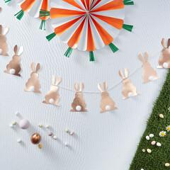 イースター/Easter/ガーランド/デコレーション/春/うさぎ/...