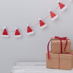 クリスマス/ガーランド/バンティング/サンタ/サンタクロース/ホームパーティ/...