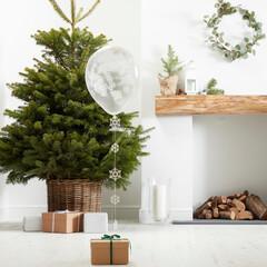 クリスマス/バルーン/コンフェッティバルーン/ホワイトクリスマス/Gingerray/ホームパーティ/...