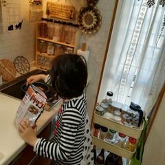 朝食作り❤/おはようございます♬/キッチン おはようございます♬ 今朝は娘が、「ウイ…