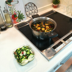 キュウリのきゅうちゃん作りました/ピクルス作り/夏野菜/フォロー大歓迎/キッチン/はらぺこグルメ こんにちは♡  InstagramとRo…