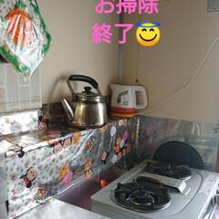 キッチン掃除/フライパン収納/キッチン収納