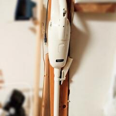 掃除機収納/スティッククリーナー/マキタ/収納/暮らし/住まい 自室にスティッククリーナーが欲しいな~と…