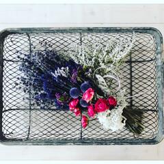 花のある暮らし/休日の過ごし方/ハンドメイド/フラワーアレジメント フラワーアレンジメント