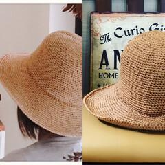 帽子/編み物/ハンドメイド/おでかけ/ファッション 夏用hat