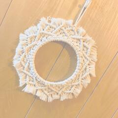 マクラメ/マクラメタペストリー/マクラメ編み マクラメタペストリー