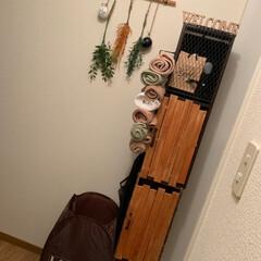 扉DIY/カラーボックスアレンジ/カラーボックス/DIY/ハンドメイド/100均/... カラーボックスの扉を完成☆  セリアの商…