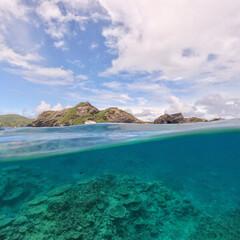 おでかけワンショット/座間味/沖縄/GoPro/zamami 大好きな座間味の海。 ここに来ると文字通…