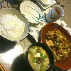 いらっしゃい🏡/息子の友達/回鍋肉/夕ごはん/赤いキッチン/こんばんは こんばんは🌙  赤いキッチンより✨  今…(1枚目)