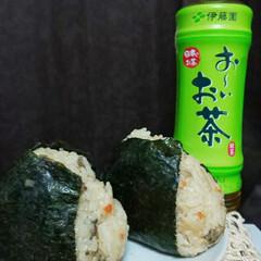 おーいお茶/onigiriAction 今朝のおーいお茶とのコラボ!! アサリの…