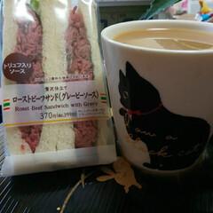 サンドイッチ おはようございます☀️ セブンの超高いサ…