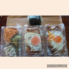 弁当日記 焼肉弁当……目玉焼きのせ!! ほうれん草…(1枚目)