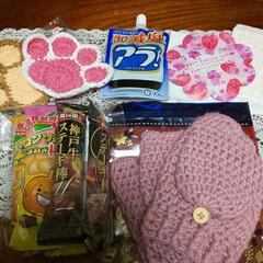 リミ友さんからの贈り物/クリスマス2019 リミ友サンタ🎅さんからプレゼント🎁💕💕メ…(1枚目)