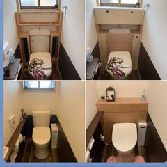 自作/タンクレス/トイレ/コーナン/手作り/生活の知恵/... トイレのタンクレス化に挑戦しました! ど…(1枚目)