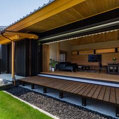 建築/住まい/リビング/おしゃれなリビングフォト投稿キャンペーン/ハウスデポジャパン/㈱木下建築/... 施工様が木材好きでたくさんの木を取り入れ…