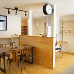 建築/住まい/おしゃれなリビングフォト投稿キャンペーン/ハウスデポジャパン/House The Garden/完成保証/... 無垢材をふんだんに使用した柔らかな空間。