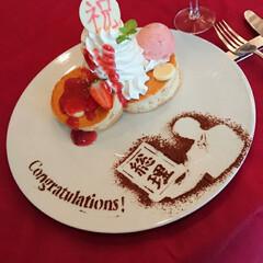 総理大臣/秋田県/お祝い/パンケーキ 湯沢グランドホテルにパンケーキを食べに来…