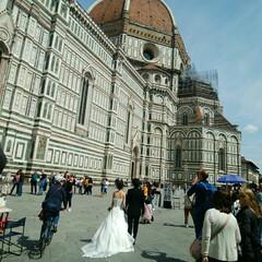平成最後の一枚 新婚旅行でイタリアに行ってウェディングフ…