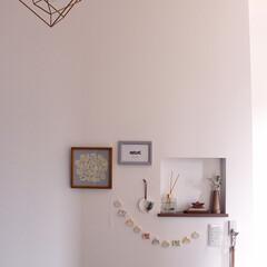 ニッチ/玄関ニッチ/玄関インテリア/鯉のぼり/五月人形/五月飾り/... 玄関周りに五月飾りを飾りました😊 ニッチ…