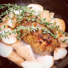 ピコ・ココット ラウンド | ストウブ(グリル鍋)を使ったクチコミ「ストウブでの煮込み料理が我が家の新定番と…」(4枚目)