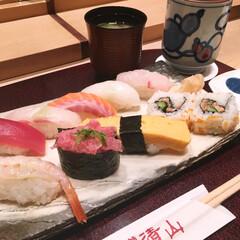 ランチ/和食/お寿司/お店 お寿司が大好きなので、仕事頑張った日のラ…