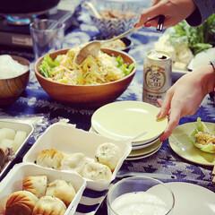 ホームパーティ/家飲み/おうちごはん/グルメ/フード/イケア 友達のお家で、とっても美味しいホームパー…