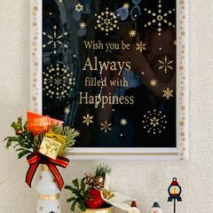 モノトーン/簡単アレンジ/マステ/ラッピングバッグ/フォトフレーム/クリスマス2019/... ダイソーでみつけた素敵なラッピングバッグ…