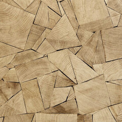 パズル/木/素材/material 不揃いだけどきっちり これだけ綺麗にハマ…