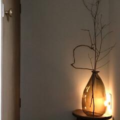 消費電力/廊下/足元灯/センサーライト/IKEA/住まい/... 我が家の廊下、突き当たり。 元々ここには…