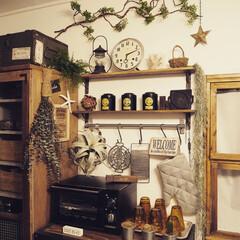 DIY/カフェ/インテリア/カフェ風インテリア/IKEA/いなざうるす屋さん/... 大スクな紅茶を収納兼ディスプレイしたお気…