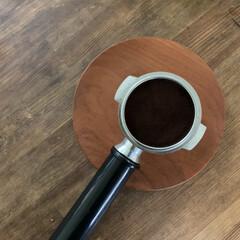 エスプレッソ/コーヒー/デロンギ/おうちごはん/簡単/おしゃれ アイスアメリカーノ作ったときの、デロンギ…