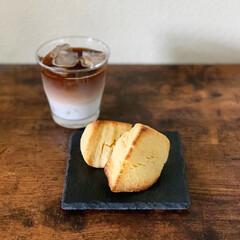 お菓子作り/おうちカフェごはん/スコーン/おうちカフェ/暮らし おうちスコーン。 今回はチーズ味にしまし…