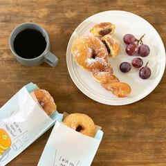 ホームベーカリー SD-MT3 | パナソニック(ホームベーカリー)を使ったクチコミ「ホームベーカリーで作ったドーナツの生地で…」(1枚目)