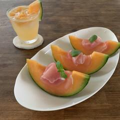 ターナー色彩 - アンティークワックス - 120g - ウォルナット | ターナー(ニス、ステイン)を使ったクチコミ「生ハムメロン。茨城メロン、甘くて美味しい…」