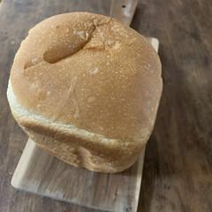 1斤タイプ ホームベーカリー SD-SB1 | パナソニック(ホームベーカリー)を使ったクチコミ「ホームベーカリーで朝ゴパン。水分は牛乳だ…」