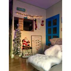 セルフリノベーション/板壁風壁紙/青いドア/海を感じるインテリア/流木/salut!/... 寒い夜はおでん~♬ 早くに仕込んだので …