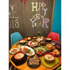 手作り料理/おせち料理/黒板アート/セルフリノベーション/明けましておめでとうございます/リフォーム/... 明けましておめでとうございます  年末二…