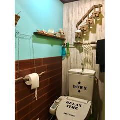 ドリームクッションパネル/山善アンバサダー/山善/珊瑚/プラスハートの棚/ウォールステッカー/... トイレの中も地震の揺れで ガラガラガッシ…
