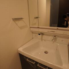 洗面室 配管からの新設です。