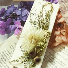 アロマオイル/aroma/お花が好き/Flower/Handmade/ドライフラワー/... 大きめのアロマワックスサシェ♪