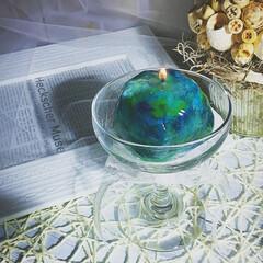Handmade/Candle/ハンドメイド/ハンドメイドキャンドル/インテリア雑貨/夏キャンドル/... プルプルジェルキャンドル😊
