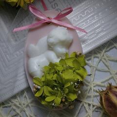 キャンドルアーティスト/ハンドメイド/花とアロマ/花と香りのある暮らし/花のある暮らし/インテリア雑貨/... アロマワックスサシェ😊