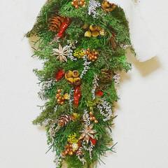 インテリア雑貨/ハンドメイド雑貨/クリスマス/Xmas/クリスマスインテリア/クリスマス雑貨/... クリスマスガーランド♪