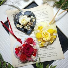 お花/バラ/ハンドメイド雑貨/手作り/アロマ/インテリア雑貨/... アロマワックスサシェ♡ バラのサシェです☺