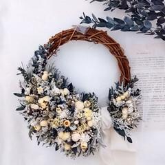 フラワーギフト/花雑貨/インテリア雑貨/花がある暮らし/花のある生活/癒しの花/... プリザーブドフラワーリース