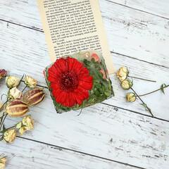ハンドメイド雑貨/インテリア雑貨/Candle/Flower/ボタニカル/キャンドル/... ガーベラのボタニカルキャンドル♡