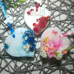 インテリア雑貨/薔薇/いい香り/手作り雑貨/ハンドメイド作家/ドライフラワー/... アロマワックスサシェ♡