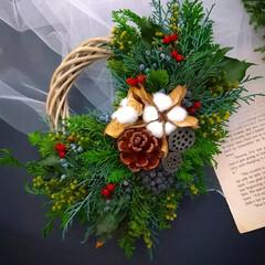 クリスマスインテリア/インテリア雑貨/Christmas/Xmasディスプレイ/Xmasアイテム/Xmas/... クリスマスリース♪
