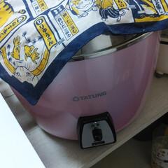 スープストック/大同電鍋 大同電鍋で豚肉細切れと玉ねぎと人参のスー…(2枚目)