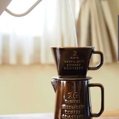 ピッチャー/お気に入り/至福の時間/コーヒーポット/コーヒードリッパー/暮らし お気に入りコーヒートリッパー 贅沢な気分…